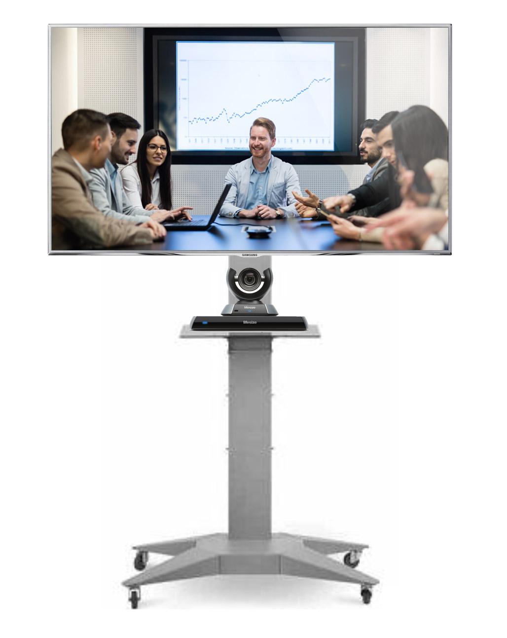 Carrello per videoconferenze